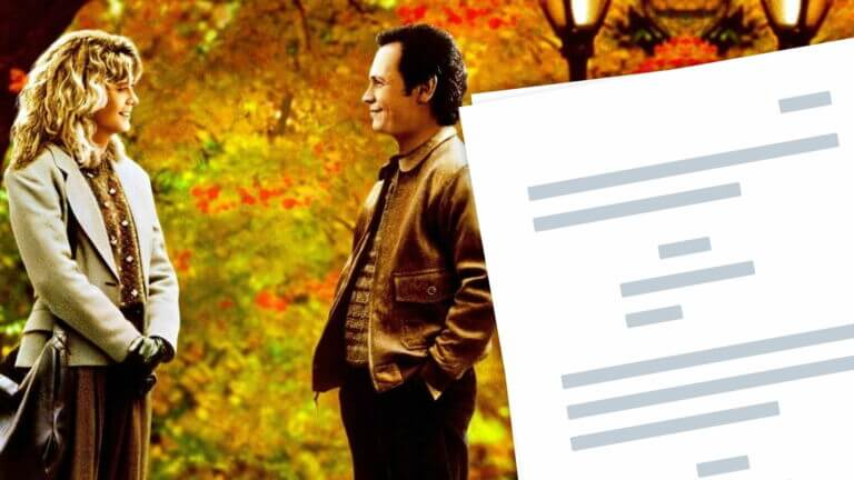 When Harry Met Sally Script PDF Download - Character Analysis - Featured