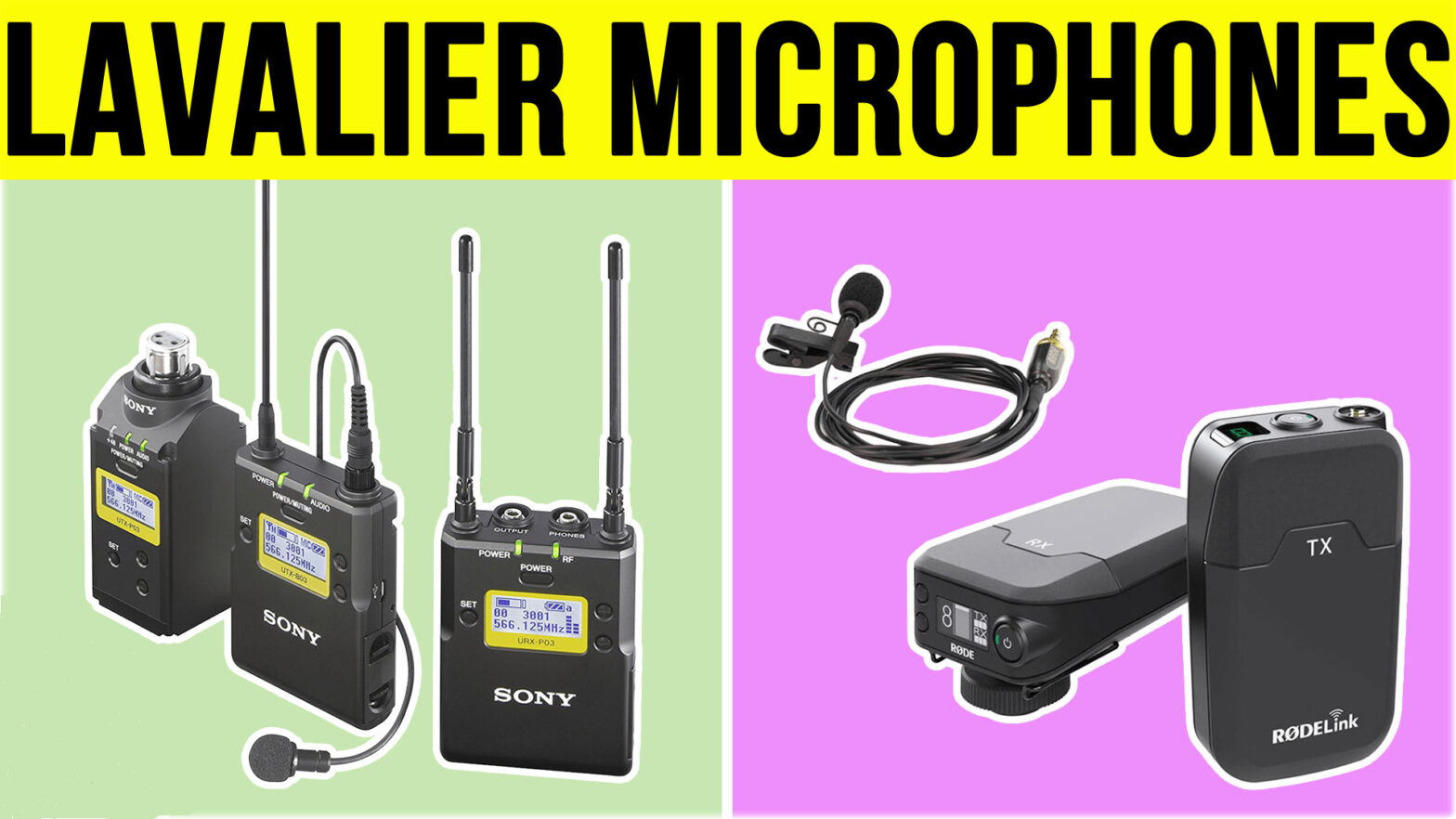 Best Lavalier Microphones - Featured Image