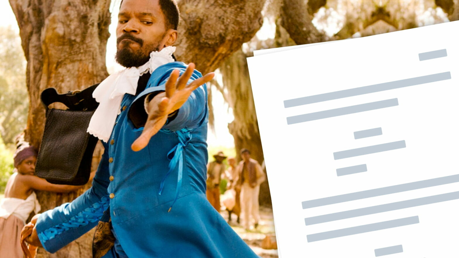 Django Unchained Script PDF Download Plot, Quotes - Analysis - Featured