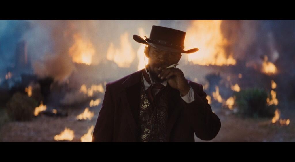 Django Unchained cinema crop bar