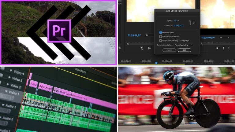 How to Reverse a Clip in Premiere Pro — A Step-by-Step Guide - Featured