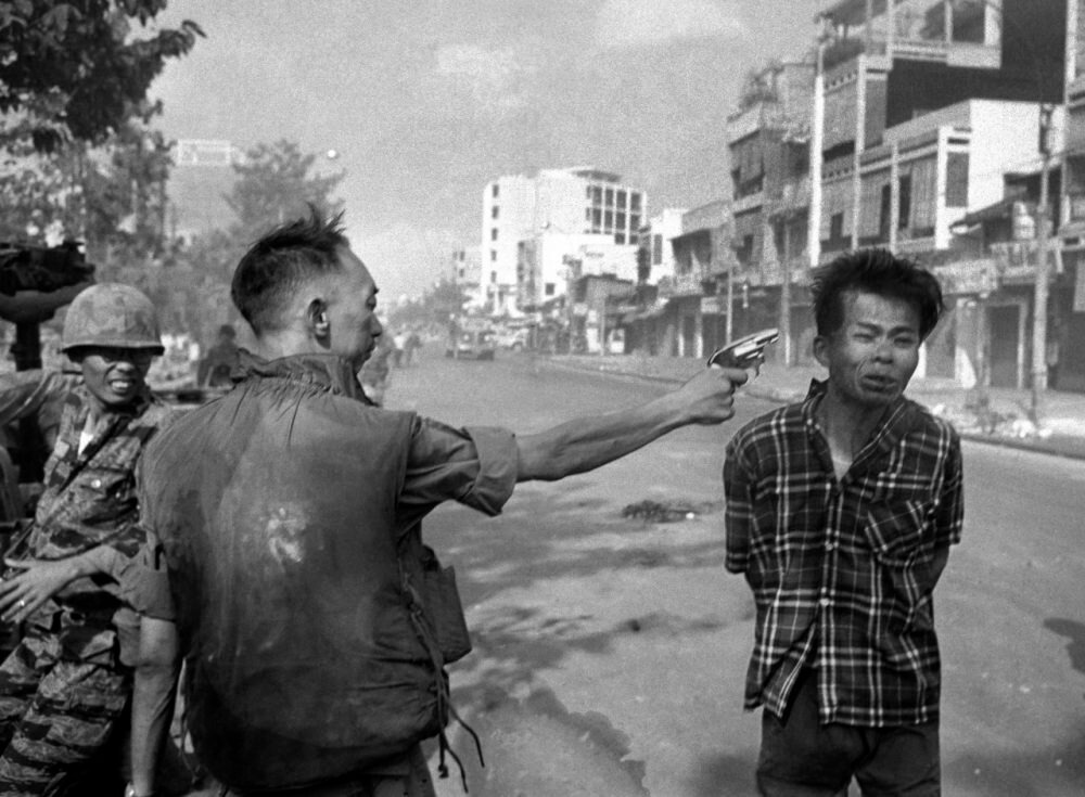 Is photography a fine art This powerful photo from the Vietnam war says yes