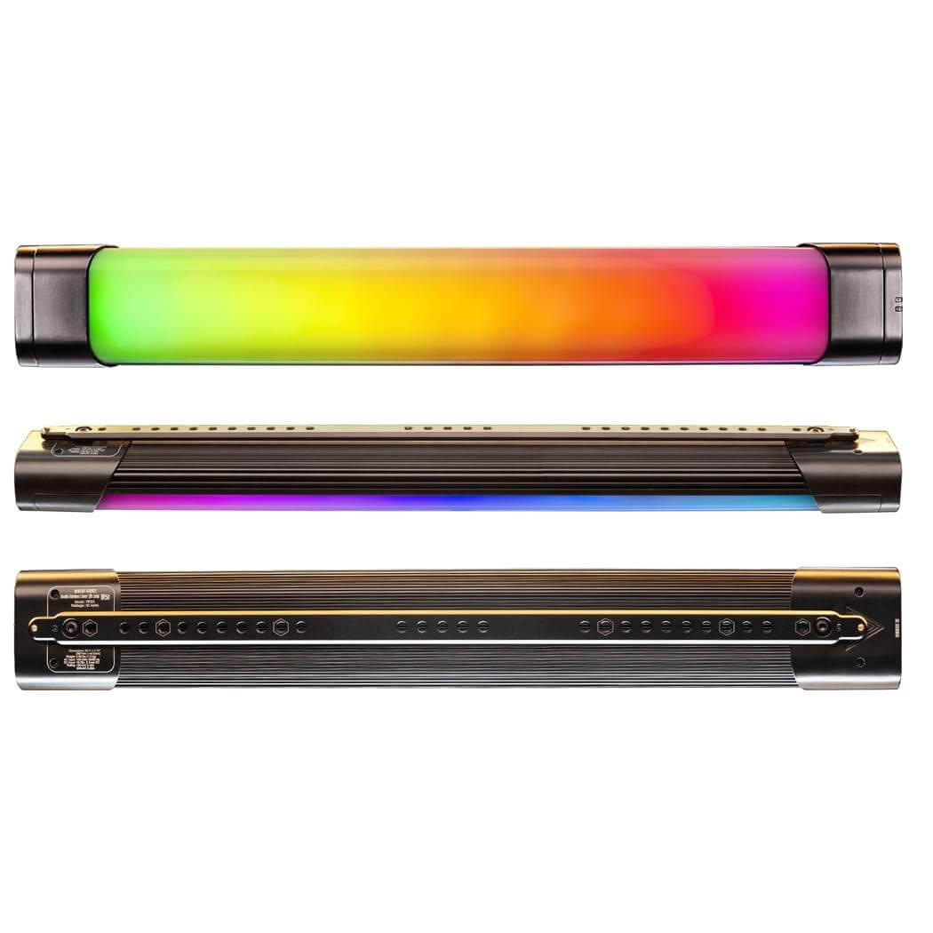 Quasar Tube Lights With RGB • Double Rainbow Model