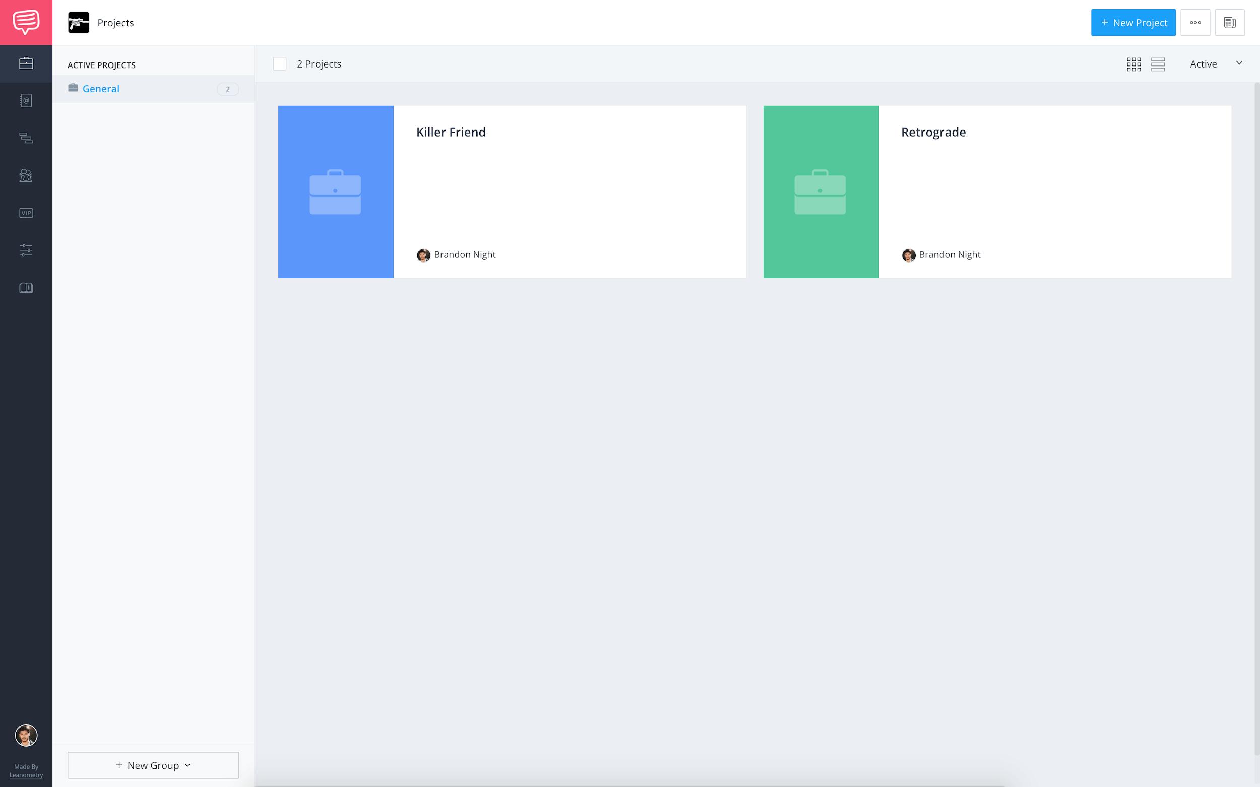 StudioBinder - Account dashboard