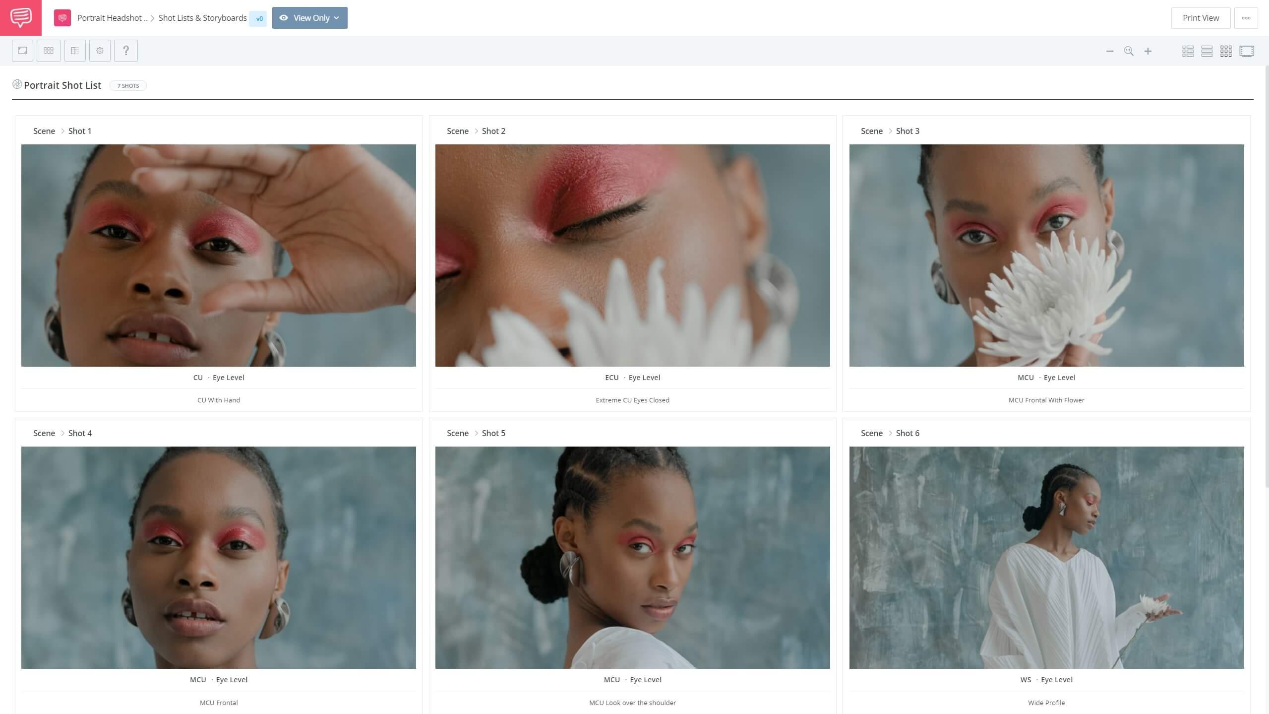 The Portrait Shot List - Portrait Shot List - StudioBinder Shotlisting Software