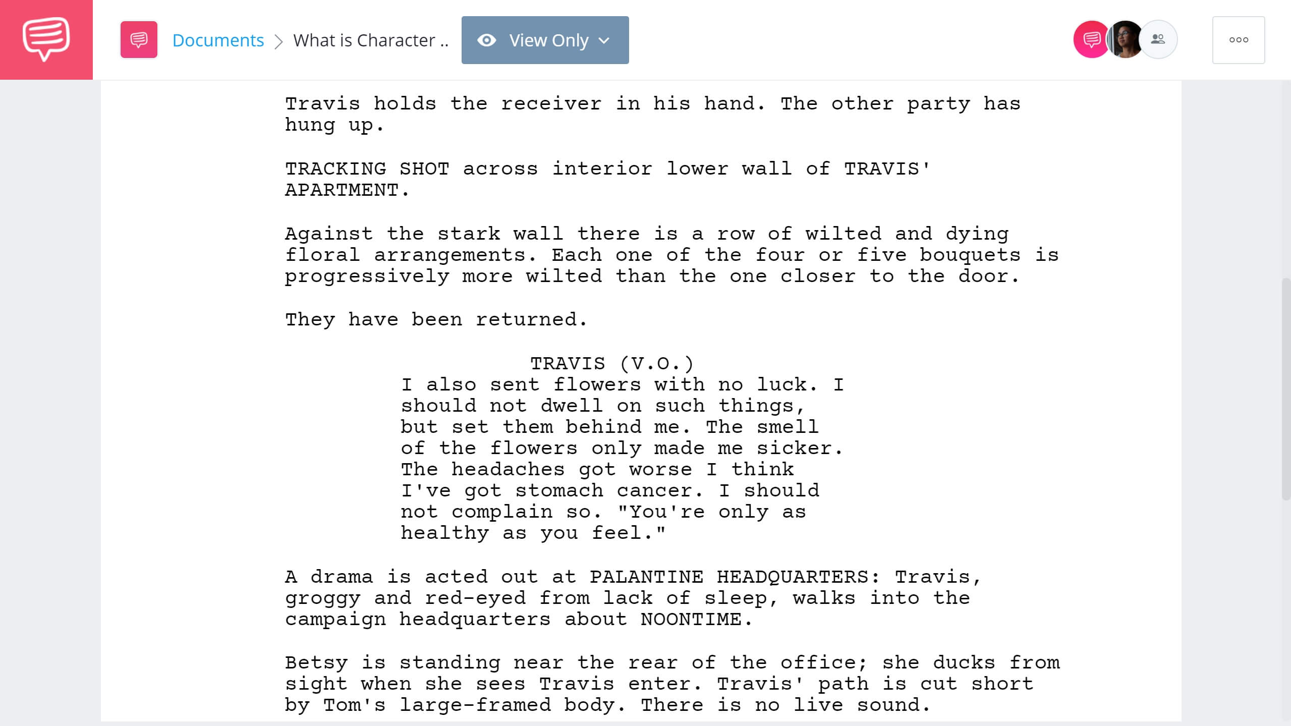 What is Character Study - Taxi Driver Example - StudioBinder Screenwriting Software
