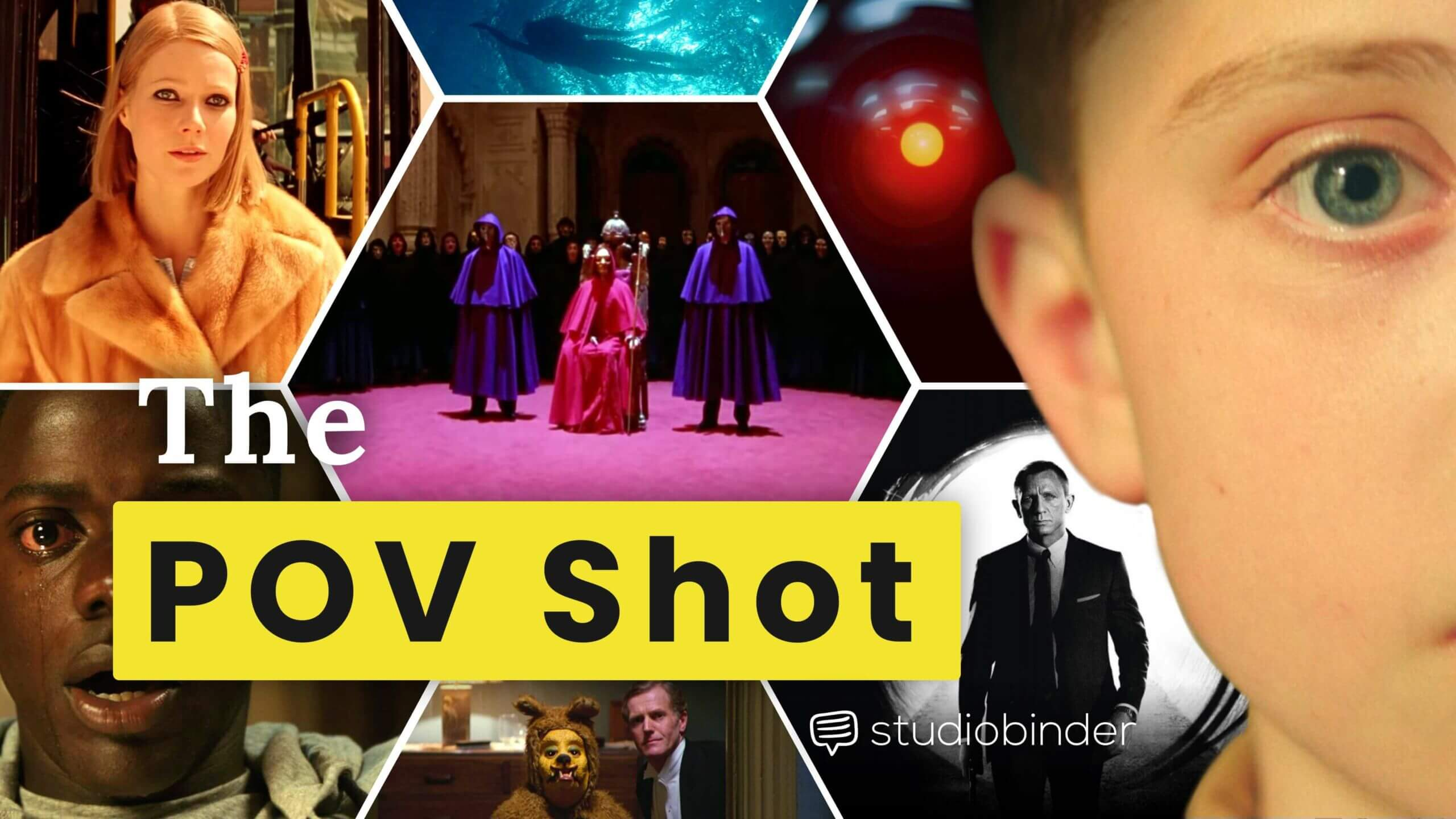 What is POV Shot - Point of View Shot and Subject Camera Explained - POV Shot Examples - YT
