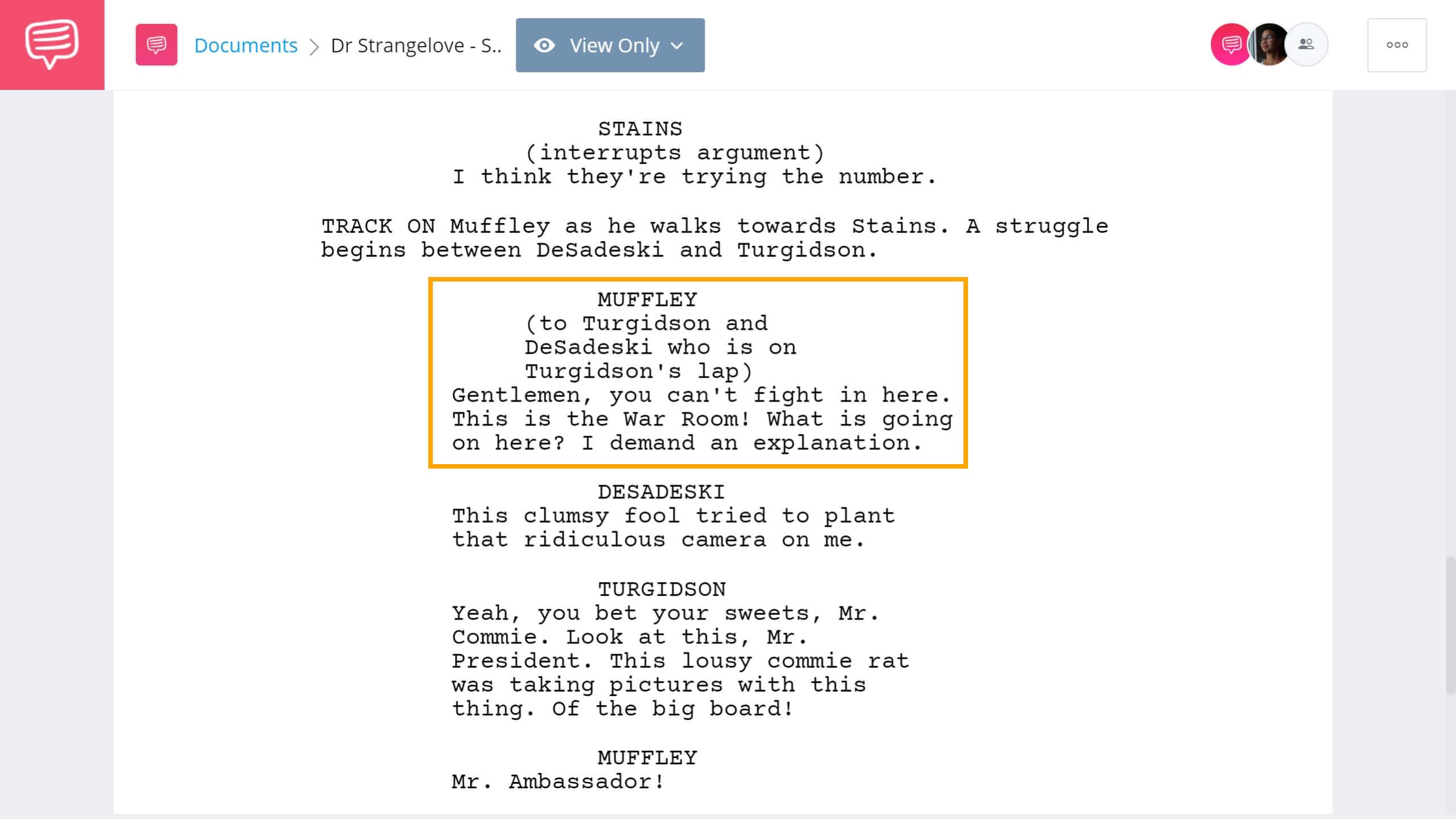 What is Satire - Dr Strangelove Satire Scene - StudioBinder Screenwriting Software