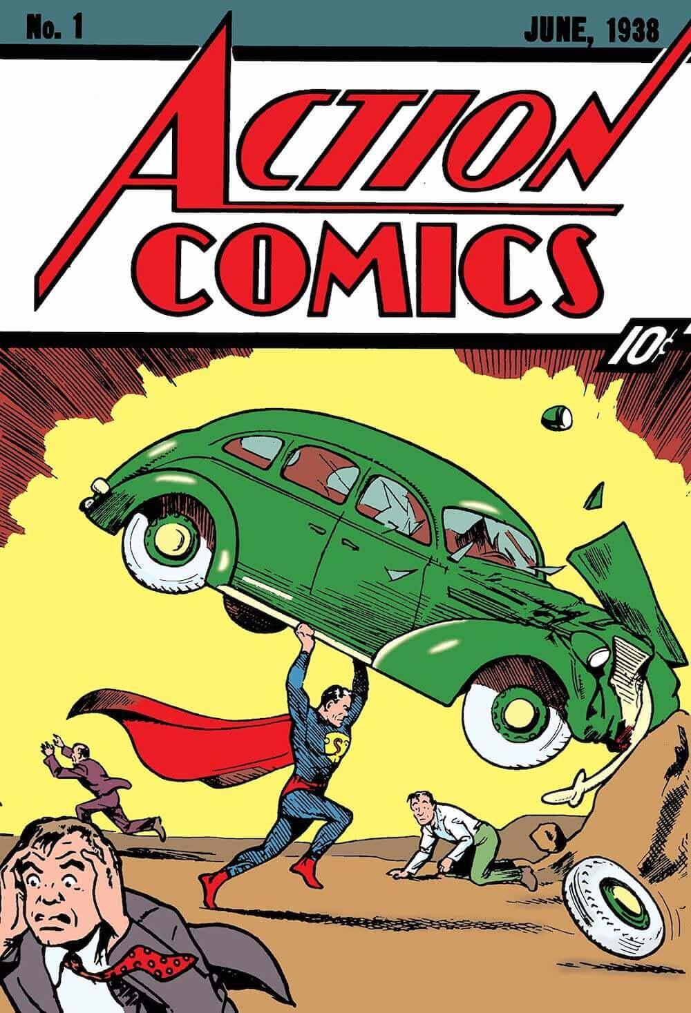 What is a Superhero - Superman - Action Comics 1