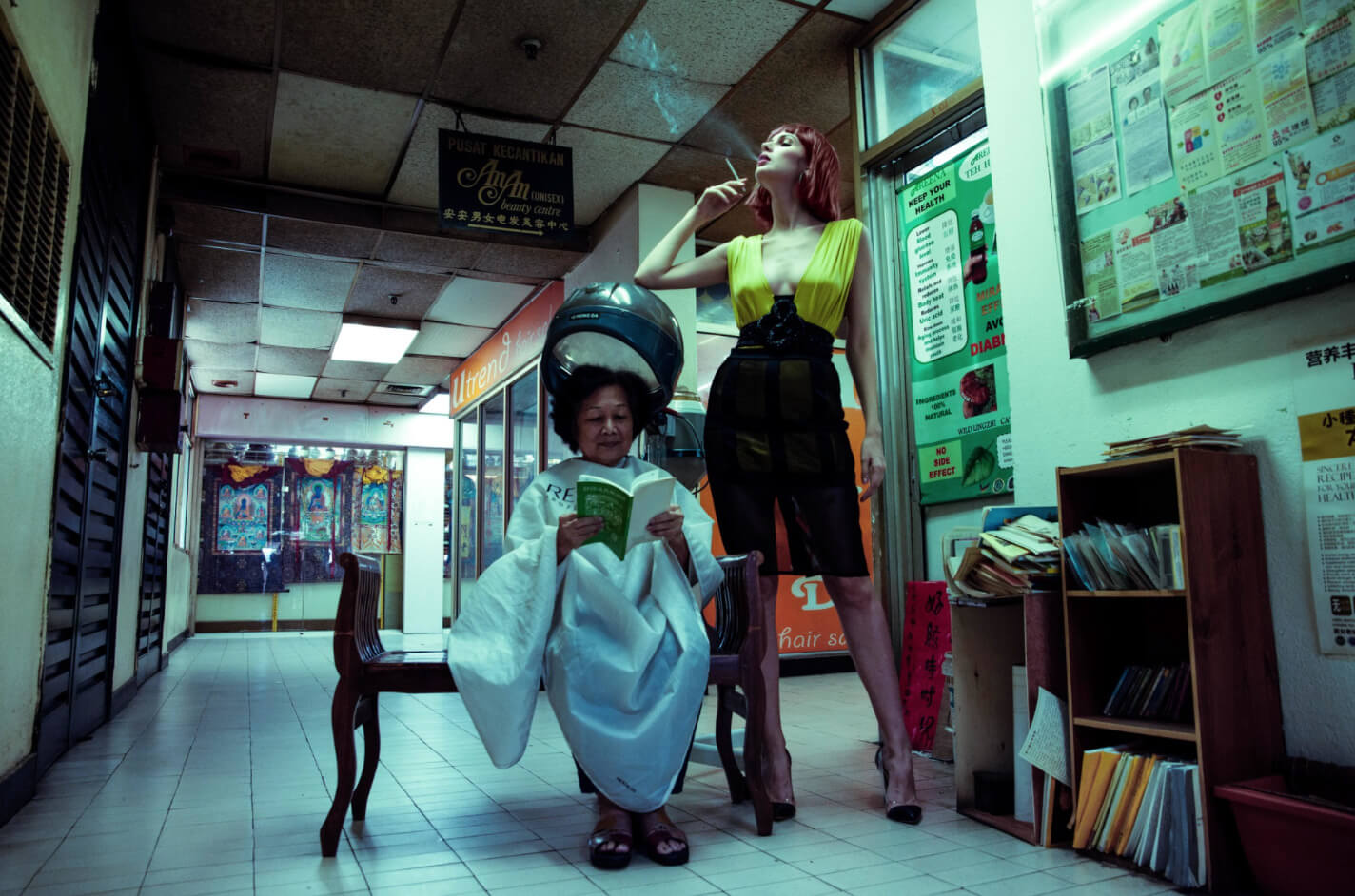 What is editorial photography on location by Oscar Munar