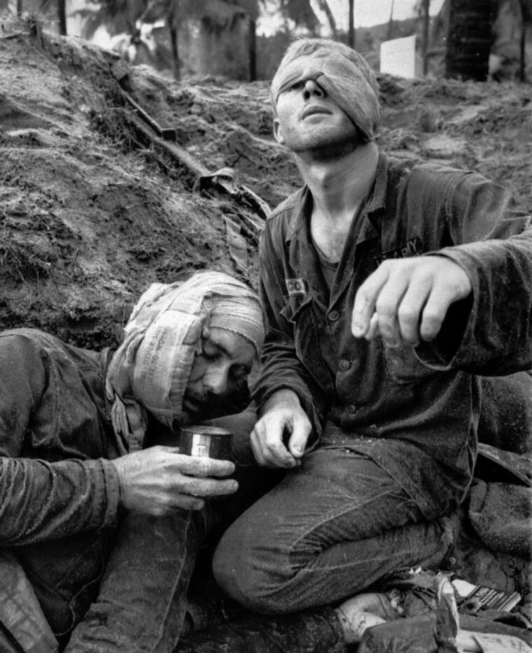 What is fine art photography if not candid images showcasing the horrors of war