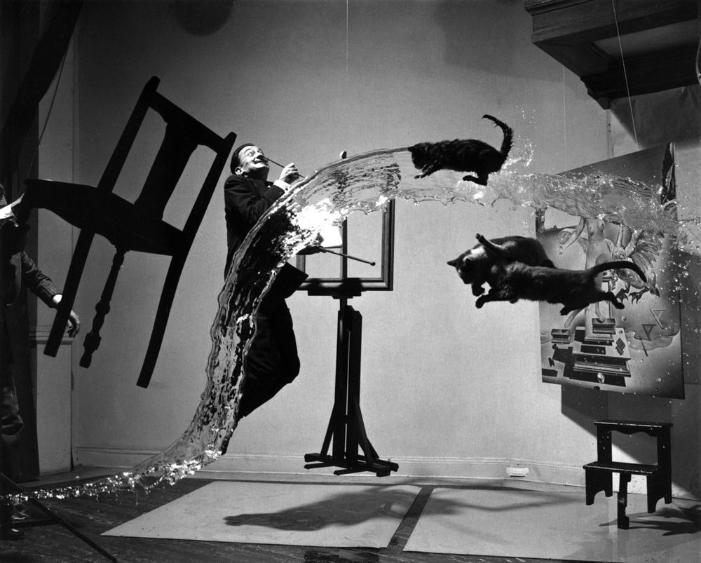 What type of art is photography In this case, surrealism
