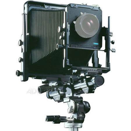 Monorail 4x5 large format camera