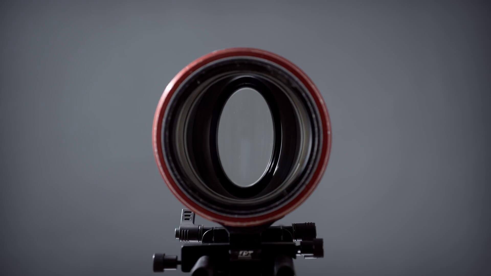 Anamorphic Lens • Credit Nicholas Moldenhauer Media Division