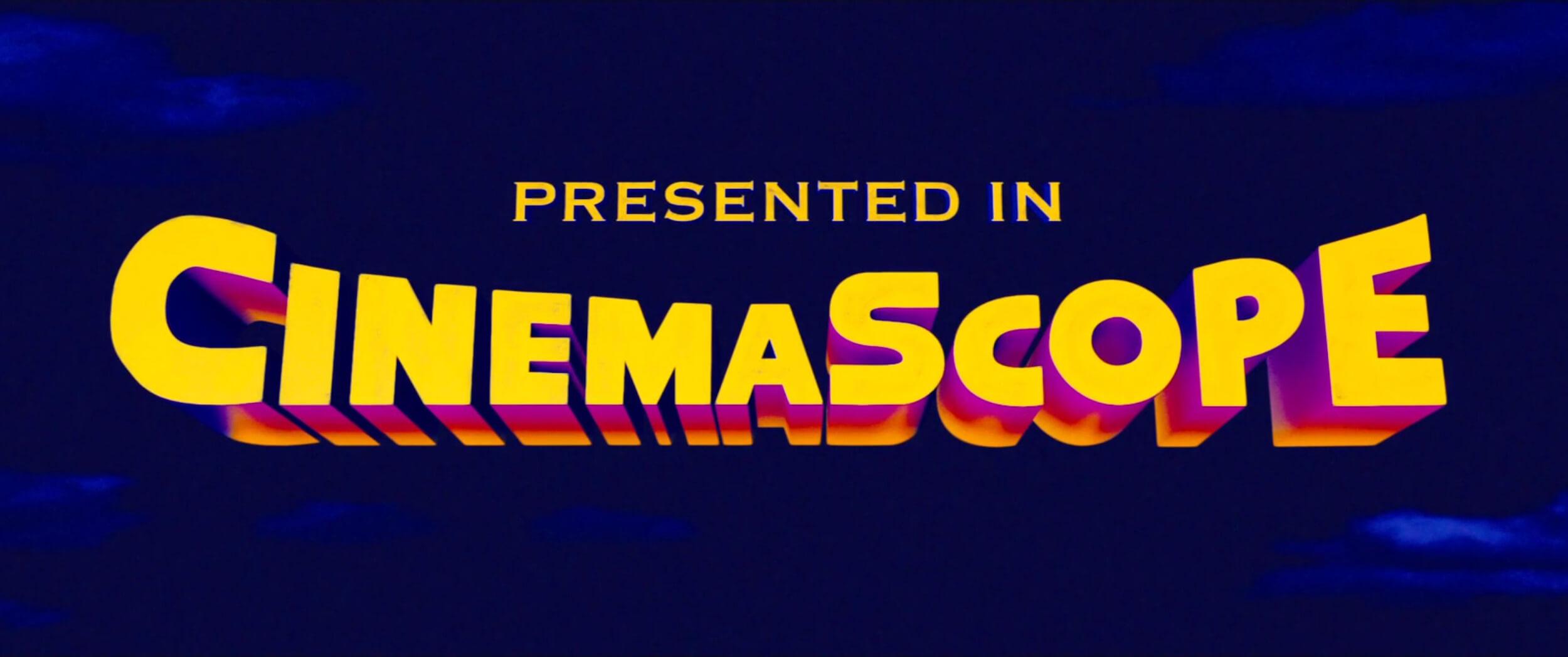 Cinemascope Opening Credits Logo