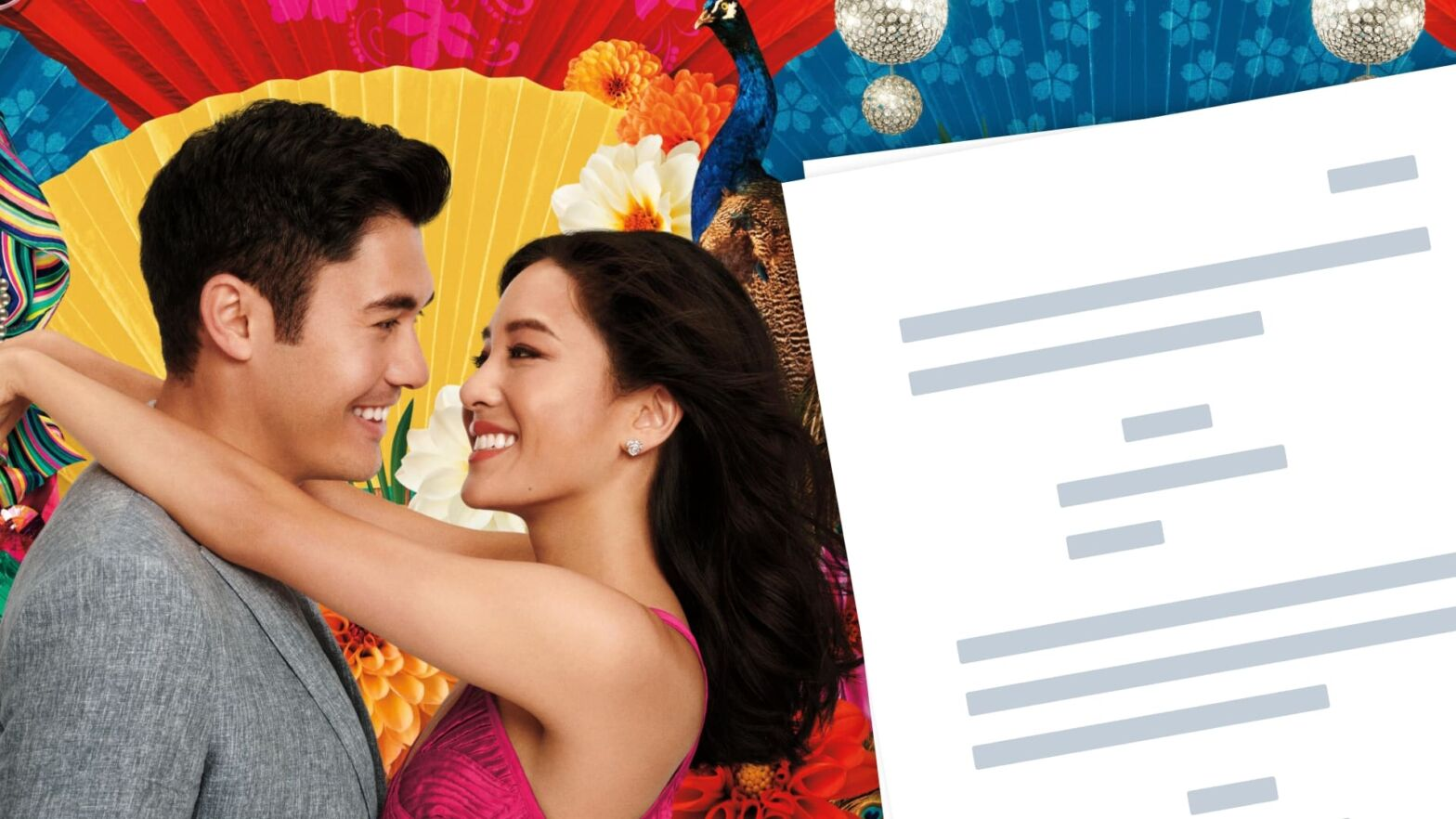 Crazy Rich Asians Script PDF Characters, Quotes - Mahjong - Featured