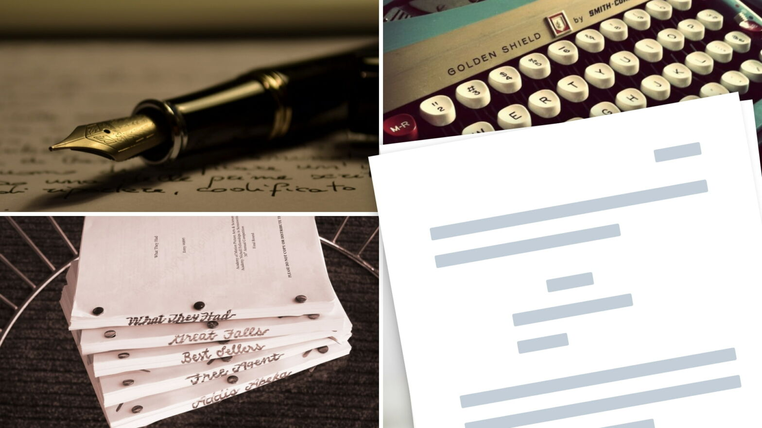Screenwriting Terms — Abbreviations, Definitions - Vocab - Featured