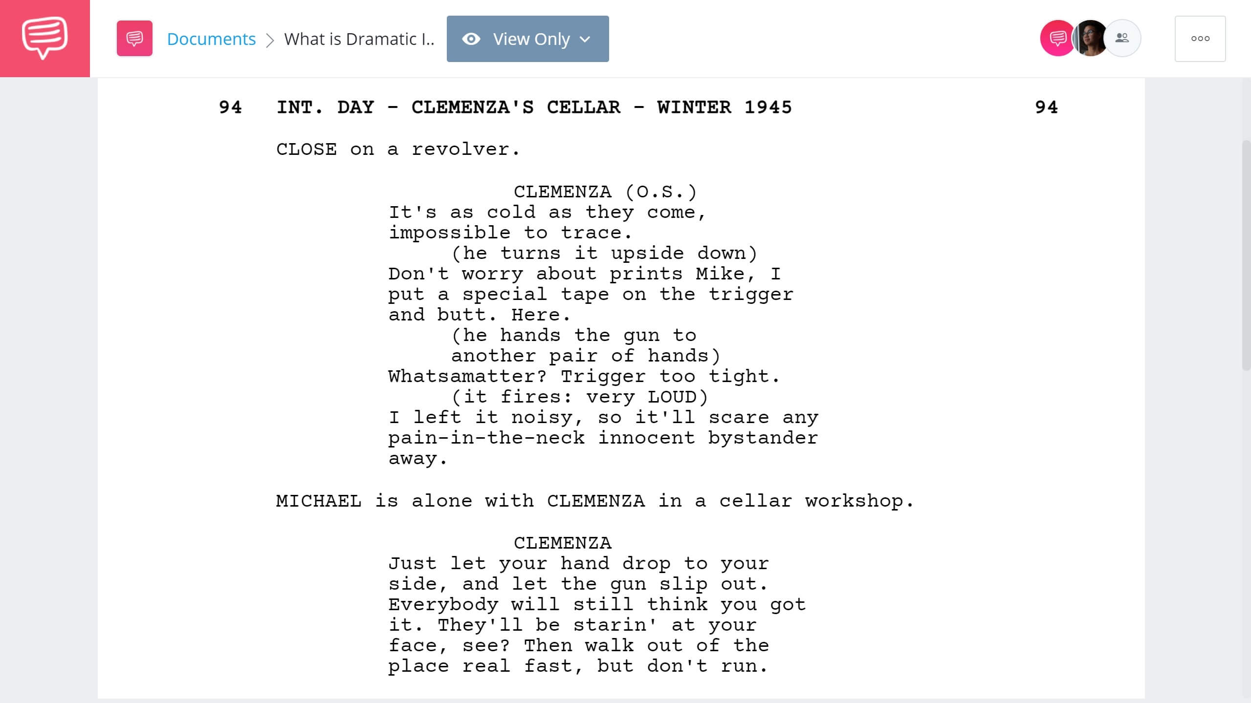 What is Dramatic Irony - The Godfather Example - StudioBinder Screenwriting Software