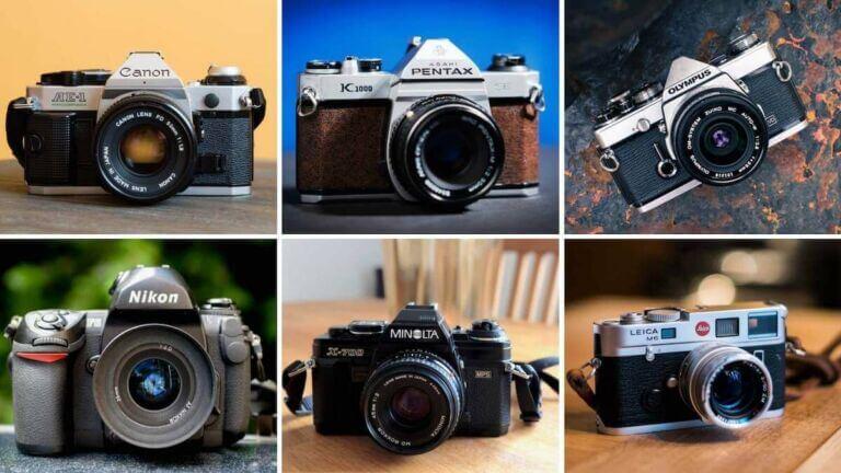 Best Film Cameras — Canon, Pentax, Olympus - StudioBinder