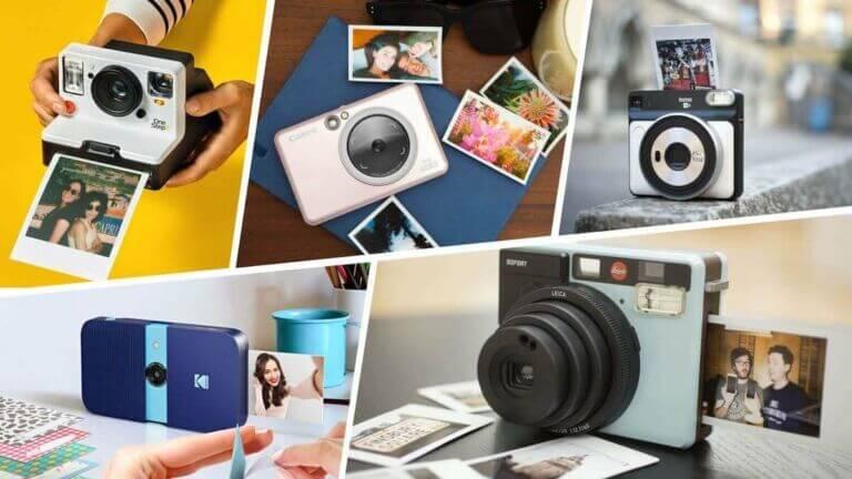 Best Instant Camera — Fujifilm, Kodak, Canon, Polaroid, Leica - StudioBinder