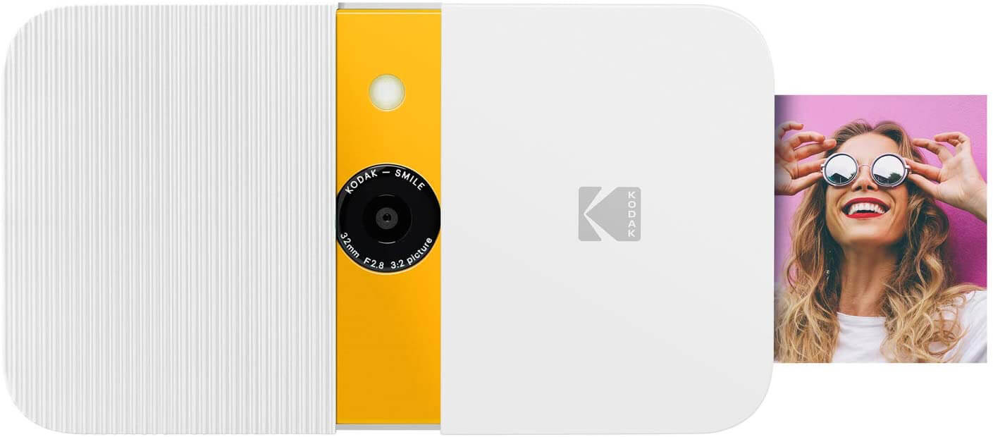Best Instant Cameras - Kodak Smile Instant Print Digital Camera