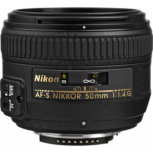 Best Nikon Lenses • Nikon AF-S Nikkor 50mm f1.4G