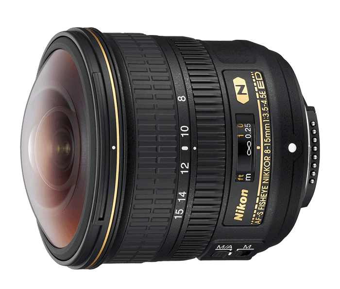 Best Nikon Lenses • Nikon Fisheye Nikkor 8-15mm f3.5-4.5E ED