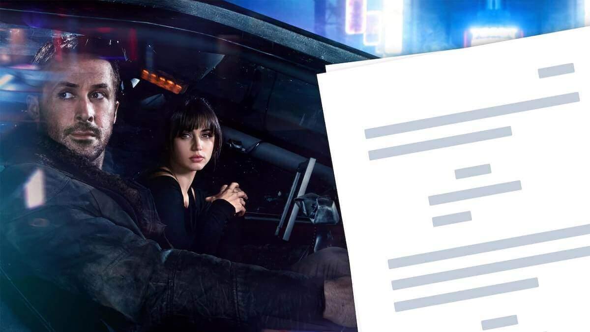 Blade Runner 2049 Script PDF — Download and Analysis - StudioBinder
