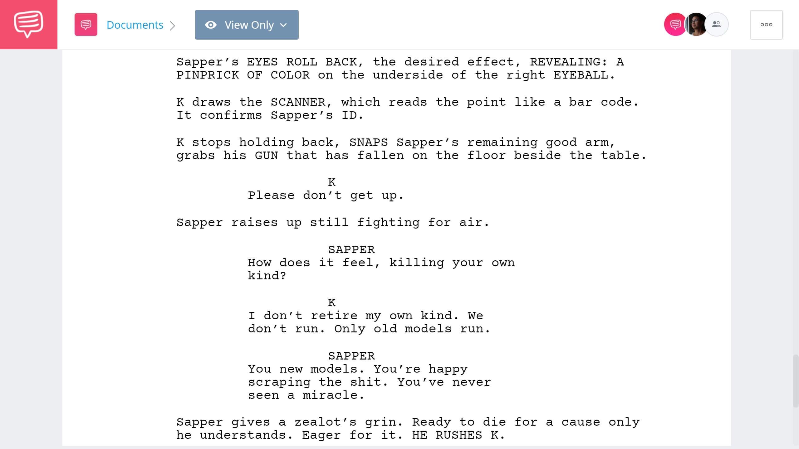 Blade Runner 2049 Script Teardown - Opening Scene - StudioBinder Screenwriting Software