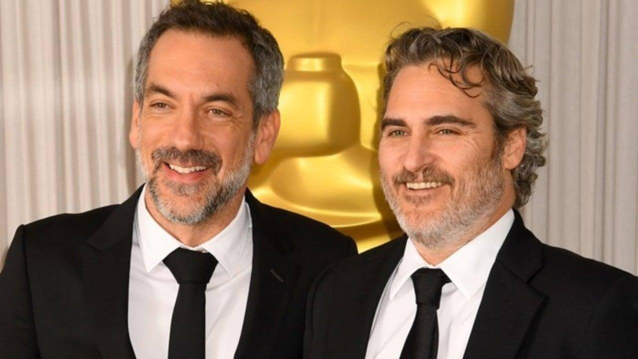 Director Todd Phillips and Joaquin Phoenix at the Oscars