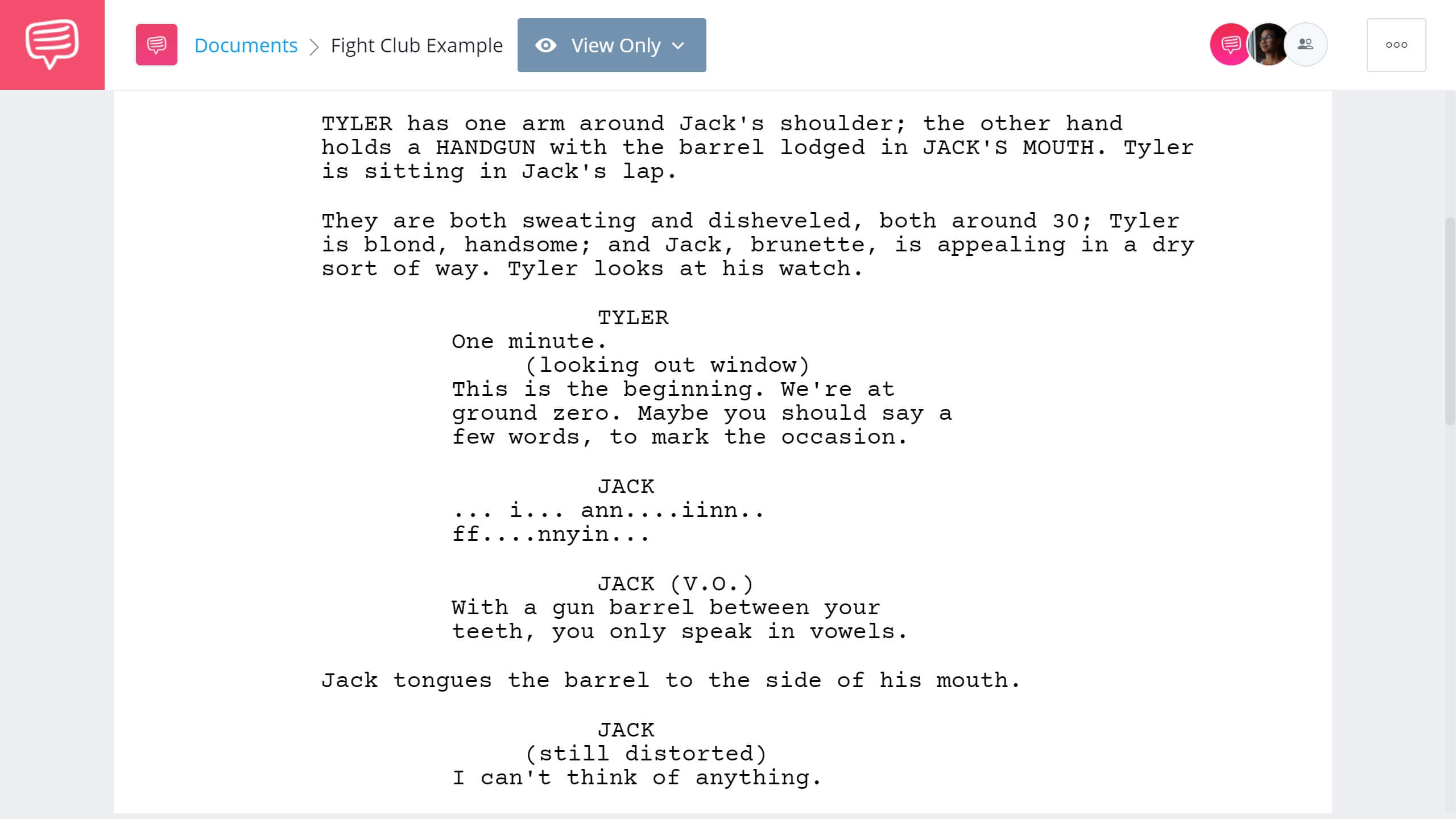 How to Write Dual Protagonist - Fight Club Example - StudioBinder Screenwriting Software