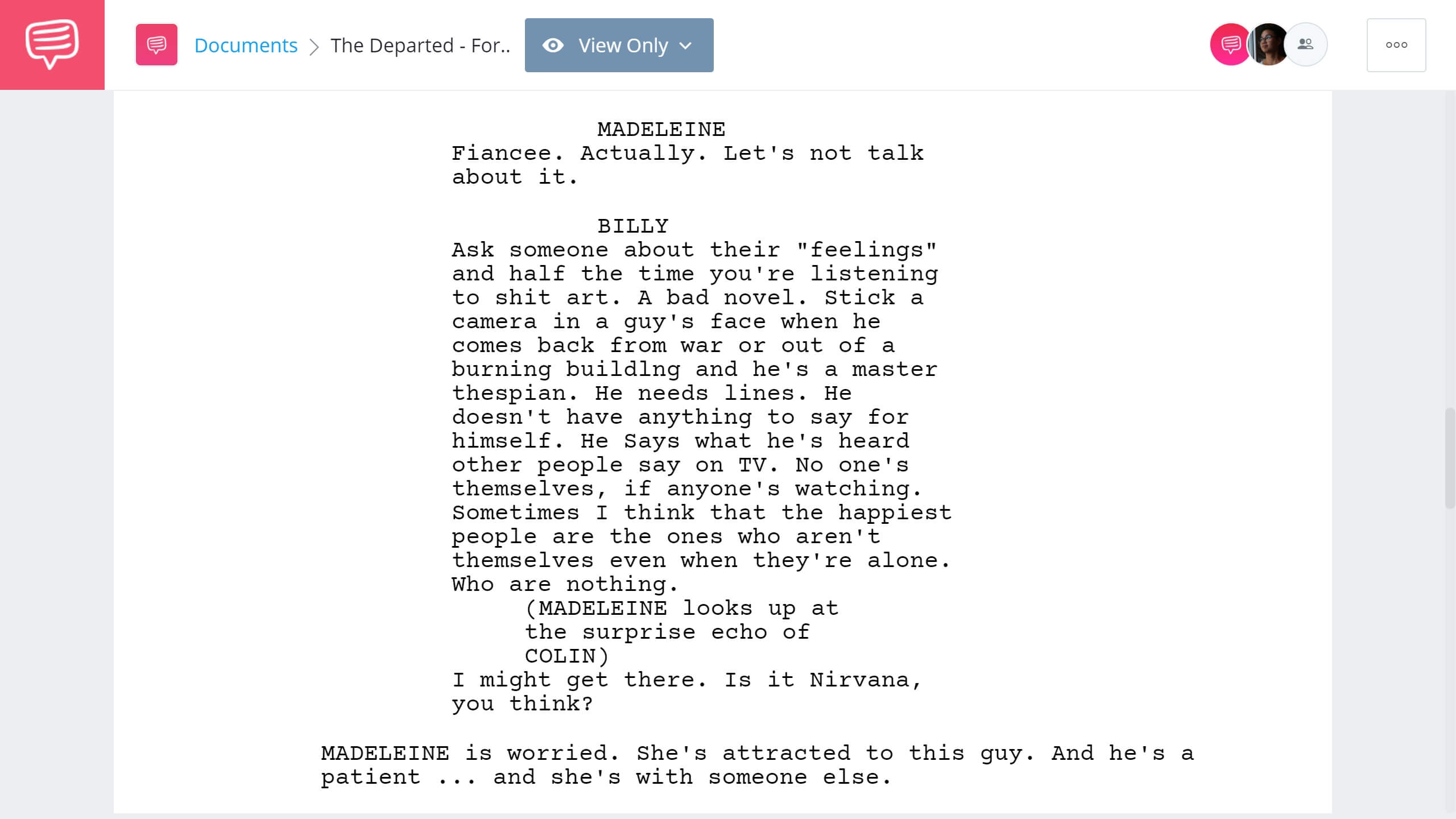 How to Write Dual Protagonist - The Departed Forth Example - StudioBinder Screenwriting Software