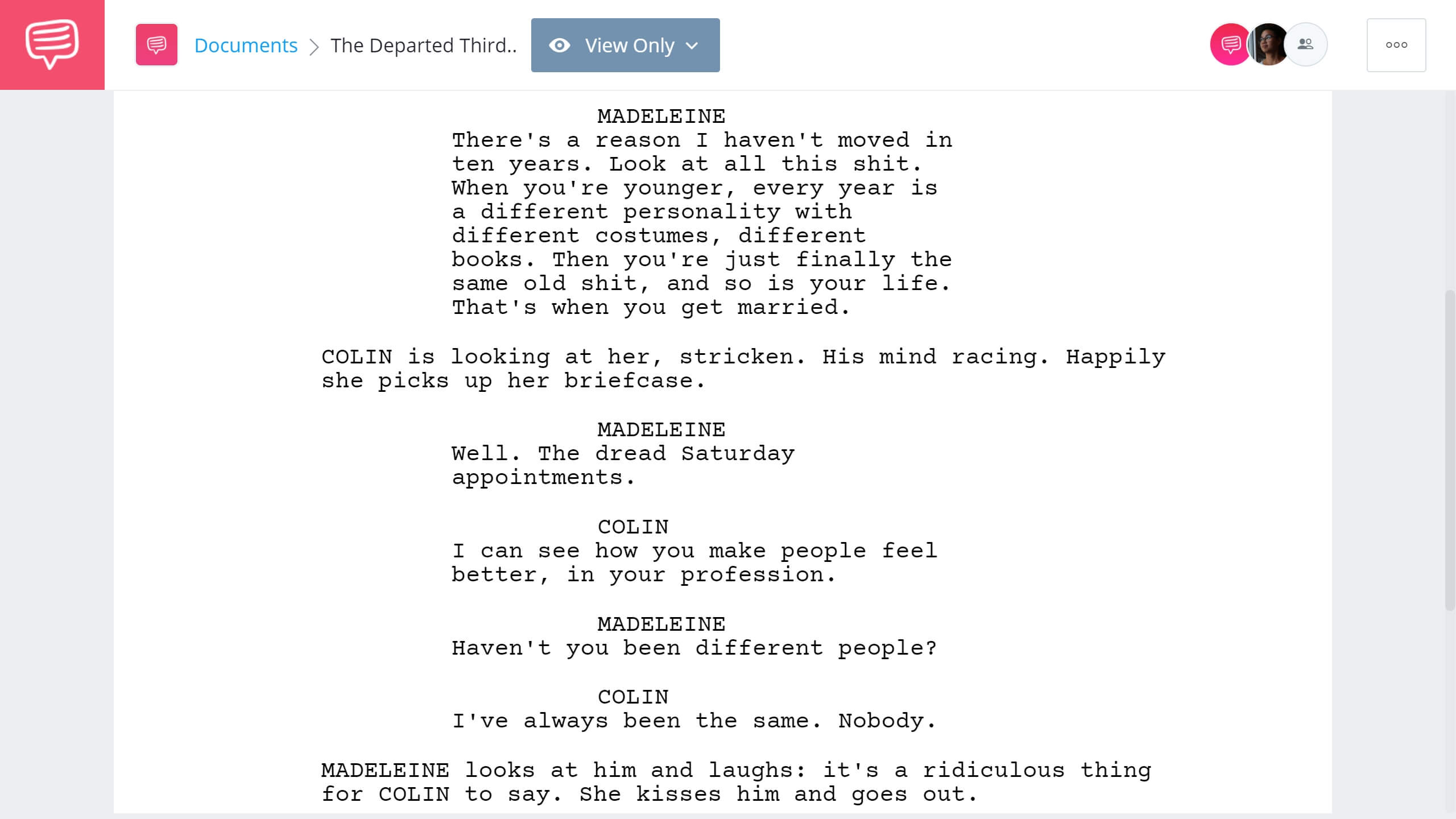 How to Write Dual Protagonist - The Departed Third Example - StudioBinder Screenwriting Software
