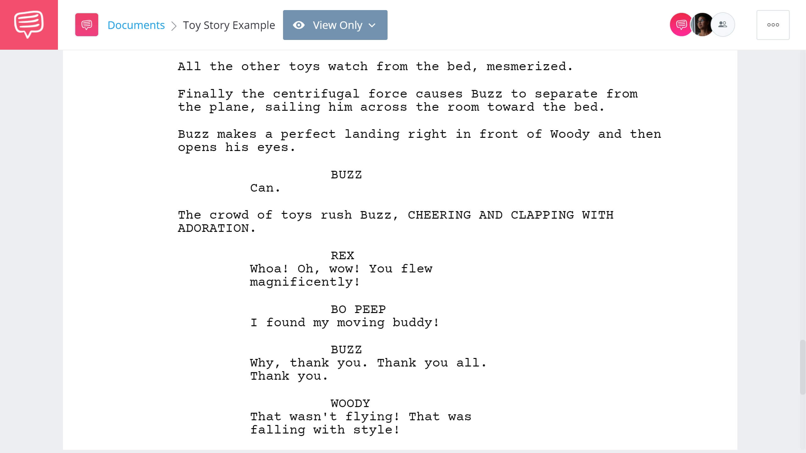 How to Write Dual Protagonist - Toy Story Example - StudioBinder Screenwriting Software