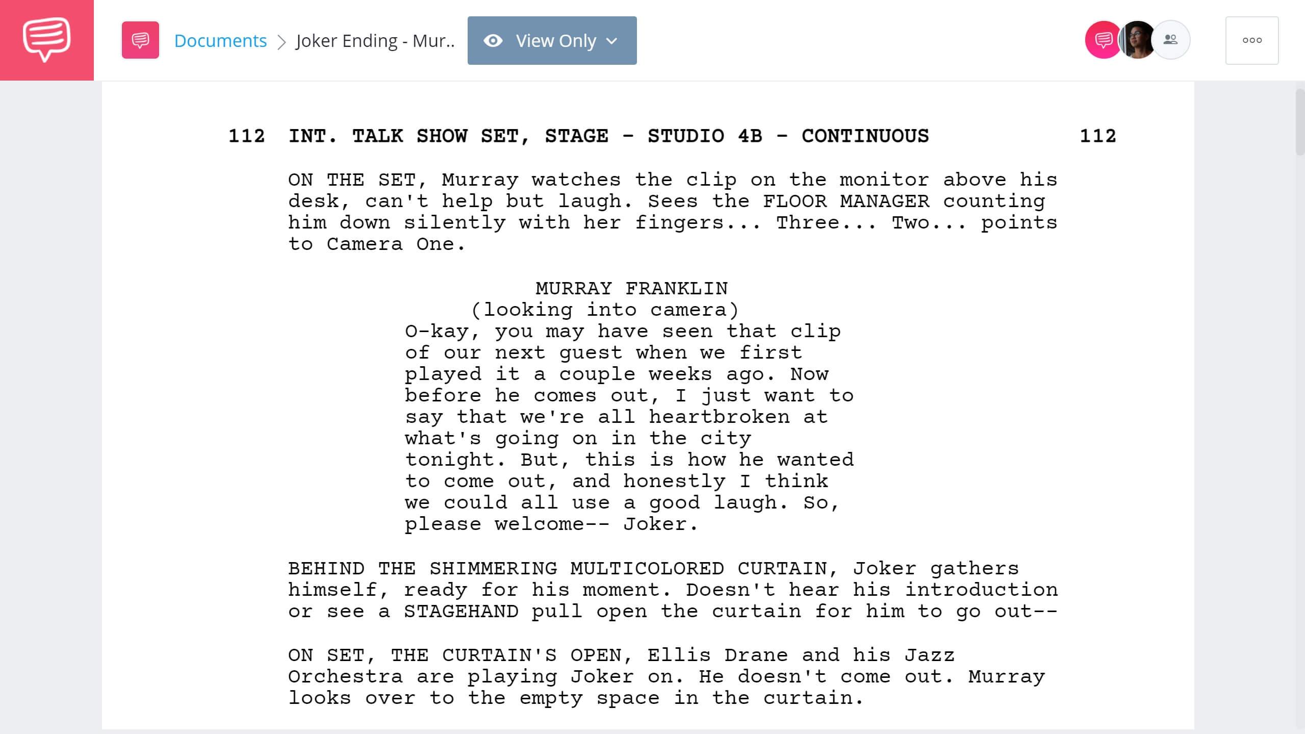 Joker Ending Explained - Murray Killing Scene - StudioBinder Screenwriting Software