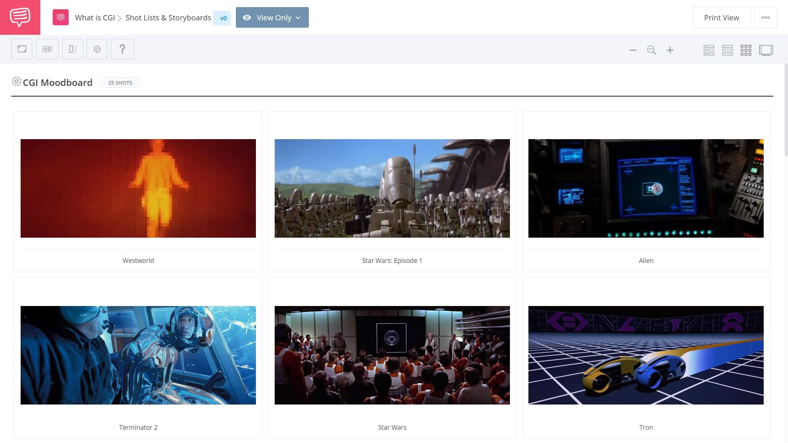 What is CGI - CGI Moodboard - StudioBinder Shot Listing Software