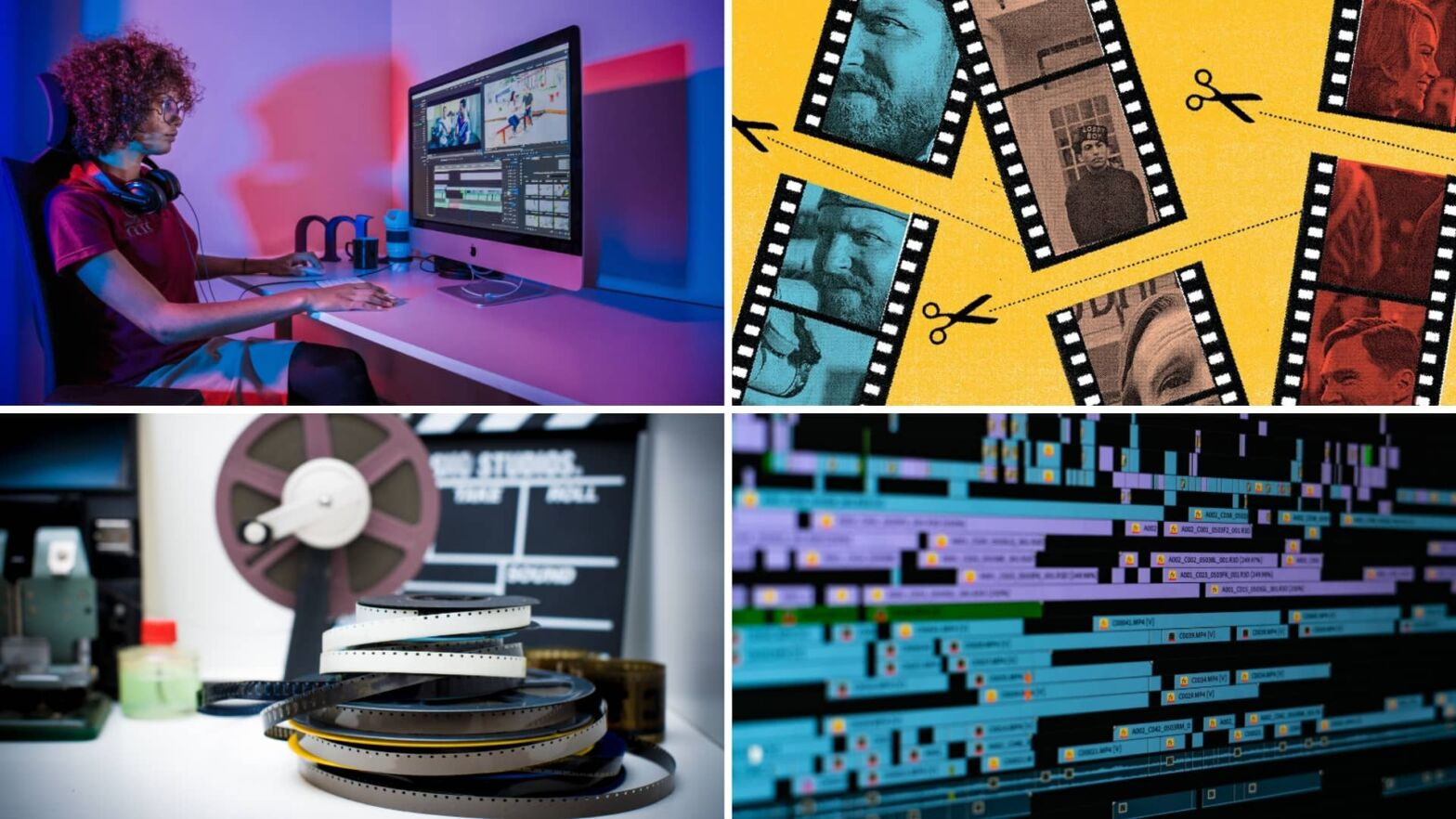 What is Film Editing — Editing Principles - Techniques Explained - StudioBinder