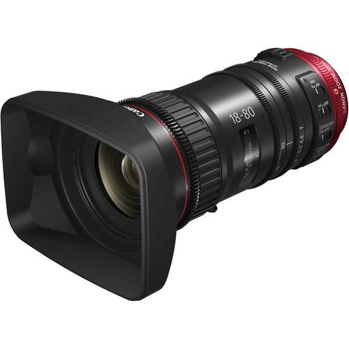 Best Canon Camera Lenses • Canon CN-E 18-80mm T4.4 Compact-Servo Cinema Zoom Lens