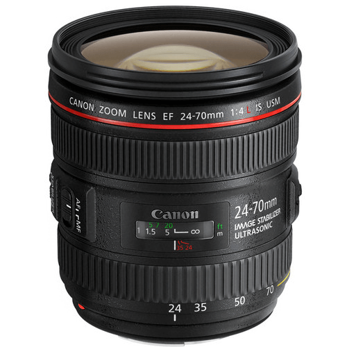 Best Canon Camera Lenses • Canon EF 24-70mm f4L IS USM