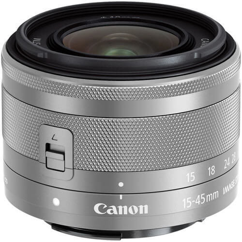 Best Canon Camera Lenses • Canon EF-M 15-45mm f3.5-6.3 IS STM