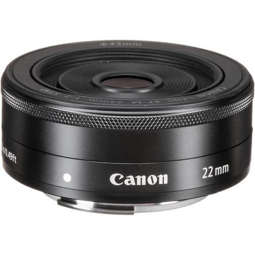 Best Canon Camera Lenses • Canon EF-M 22mm f2 STM