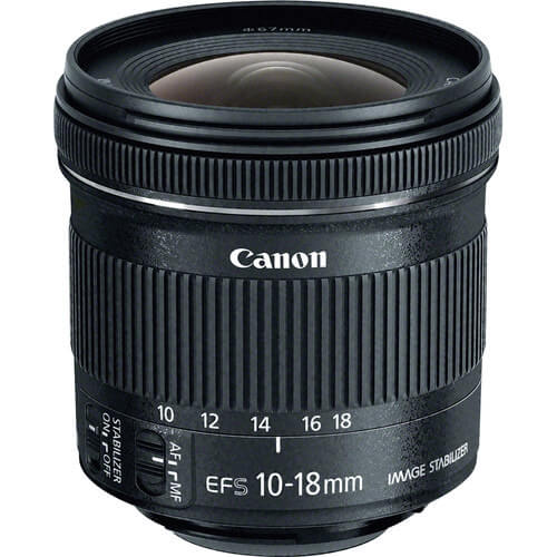Best Canon Camera Lenses • Canon EF-S 10-18mm f4.5-5.6 IS STM