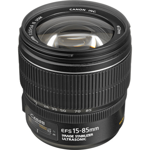 Best Canon Camera Lenses • Canon EF-S 15-85mm f3.5-5.6 IS USM