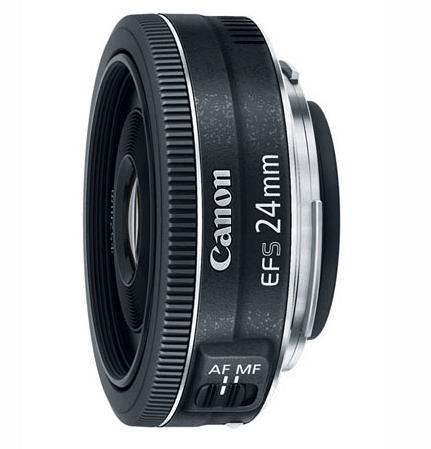 Best Canon Camera Lenses • Canon EF-S 24mm f2.8 STM