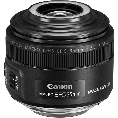 Best Canon Camera Lenses • Canon EF-S 35mm f2.8 Macro IS STM