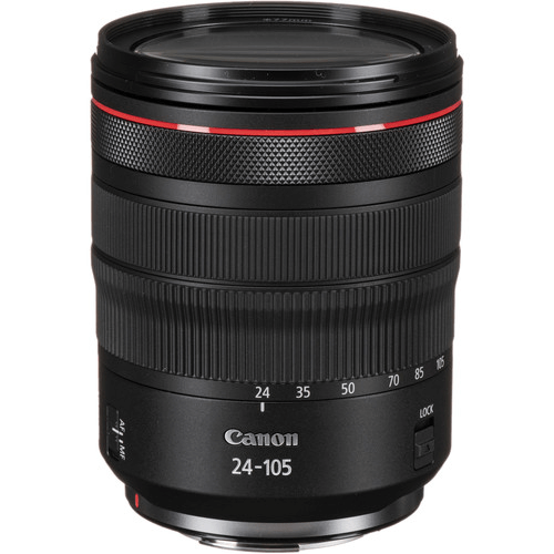 Best Canon Camera Lenses • Canon RF 24-105mm f4L IS USM