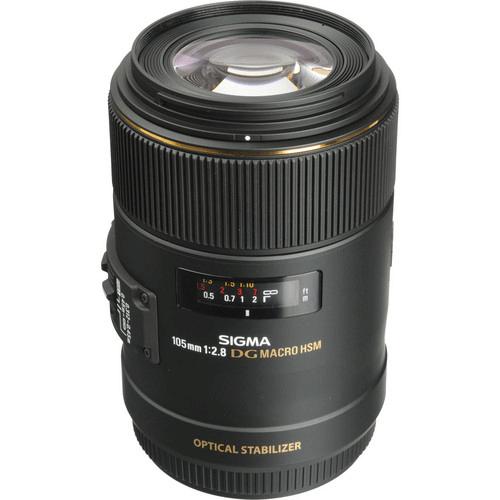 Best Canon Camera Lenses • Sigma 105mm f2.8 EX DG OS HSM Macro