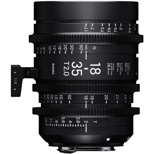 Best Canon Camera Lenses • Sigma 18-35mm T2 High-Speed Zoom Lens