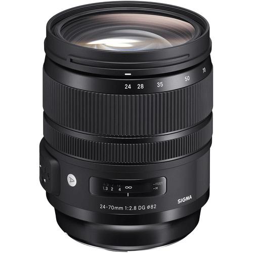 Best Canon Camera Lenses • Sigma 24-70mm f2.8 DG OS HSM Art