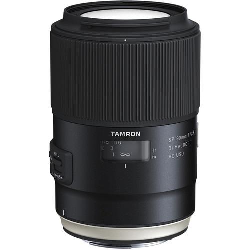 Best Canon Camera Lenses • Tamron SP 90mm f2.8 Di Macro 11 VC USD